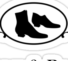 Moriarty's Shoe Shop 2 Sticker