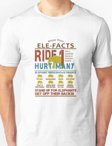 Ultimate Elephant Ride Facts Unisex T-Shirt