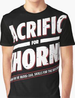 Sacrifice for Khorne - Damaged Graphic T-Shirt