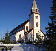 Anglican Church by Annlynn Ward