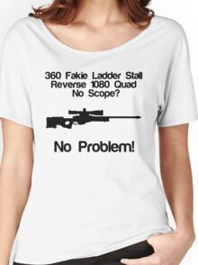 No Scope? No Problem! Women's Relaxed Fit T-Shirt