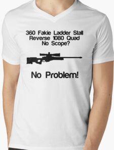 No Scope? No Problem! Mens V-Neck T-Shirt