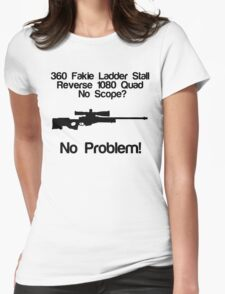 No Scope? No Problem! Womens Fitted T-Shirt
