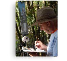 The Artist - El Artista Canvas Print