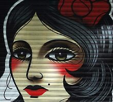 flamenco girl, pamplona spain by offpeaktraveler