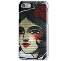 flamenco girl, pamplona spain iPhone Case/Skin