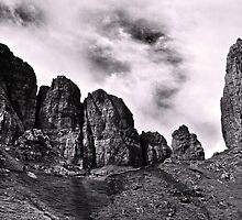 The Old Man of Storr  - A View  by Carl Gaynor