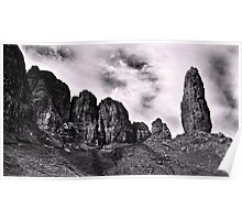 The Old Man of Storr  - A View  Poster