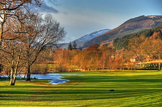 Aberfeldy view by Tom Gomez