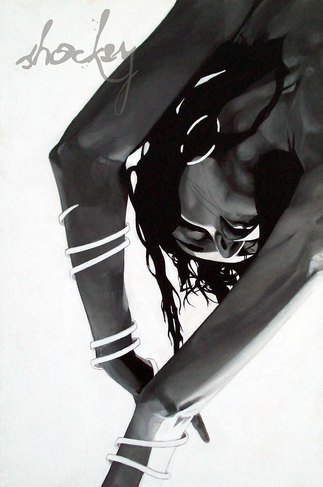 She Hangs Brightly by Derek Shockey