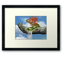Piece of Nature Framed Print