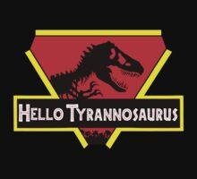Hello Tyranosaurus by DanC987