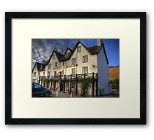 The Kenmore Inn Framed Print