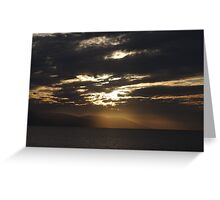 Winter - Light, Sky, Ocean I - Invierno - Luz, Cielo, Oceano Greeting Card