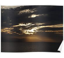 Winter - Light, Sky, Ocean I - Invierno - Luz, Cielo, Oceano Poster