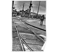 tram tracks Poster