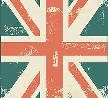UK flag iPhone cover by Anastasiia Kucherenko