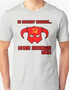 Soviet Knees Have Arrows... Unisex T-Shirt
