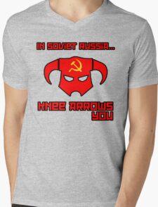 Soviet Knees Have Arrows... Mens V-Neck T-Shirt