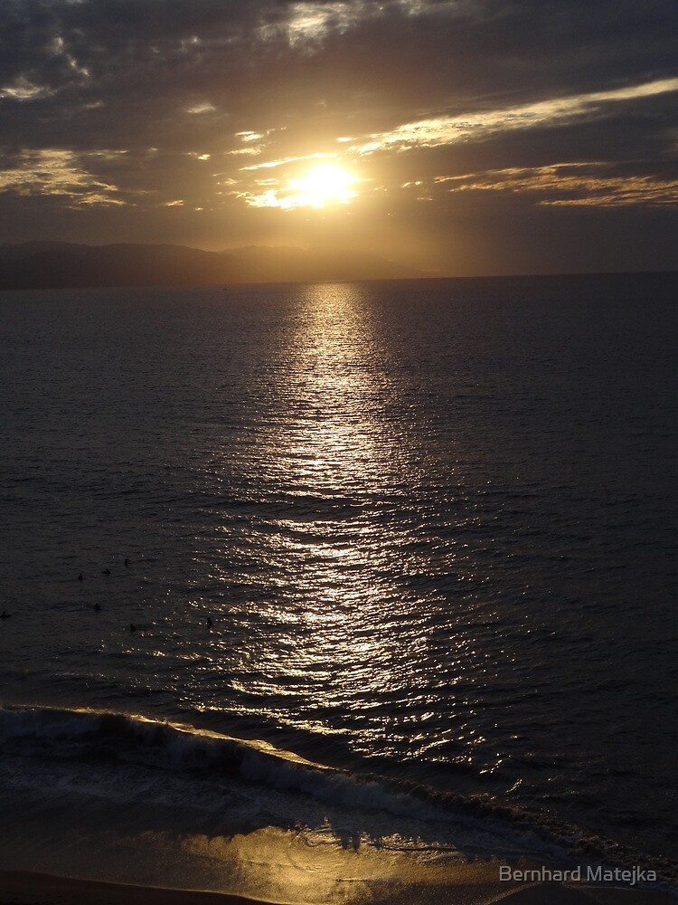 Winter - Light, Sky, Ocean II - Invierno - Luz, Cielo, Oceano by Bernhard Matejka