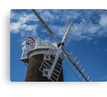The windmill at Cley Canvas Print