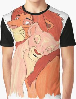 Lion Love Graphic T-Shirt