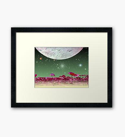 Alien World 1 Framed Print