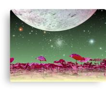 Alien World 1 Canvas Print