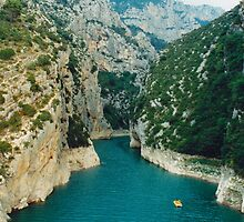 Gorge Of Verdon by Fara