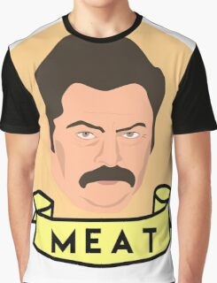 Meat Graphic T-Shirt