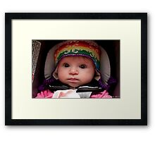 Mia Rose Framed Print