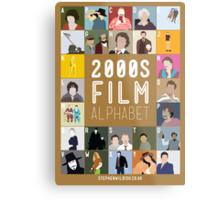 00s Film Alphabet Metal Print