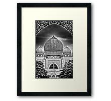 Dome B&W Framed Print