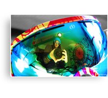 Goggle Reflection Canvas Print
