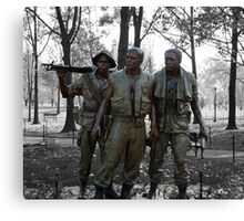 The Three Soldiers Canvas Print