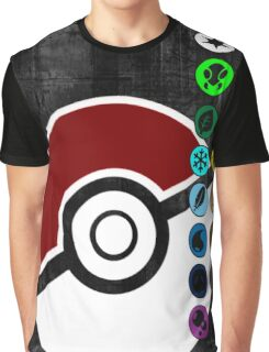 Pokemon Pokeball Energy Complete  Graphic T-Shirt