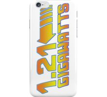 1 21 Gigawatts Back to The Future iPhone Case/Skin