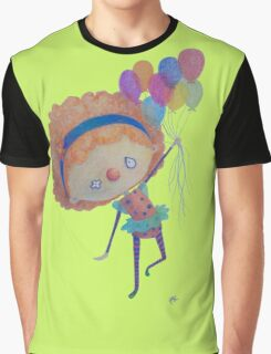 Clown Girl Graphic T-Shirt
