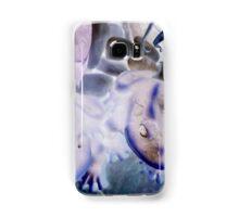 Frog sculptures solarized. Samsung Galaxy Case/Skin