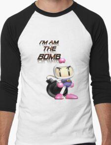 Bomberman: I'm am the BOMB Men's Baseball ¾ T-Shirt