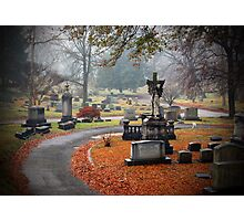 Old Gray Cemetery-1946 Photographic Print