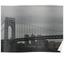 Span of the George Washington Bridge (best viewed larger) Poster