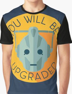 Doctor Who Cybermen You Will Be Upgraded Graphic T-Shirt