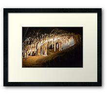 Jenolan caves Framed Print