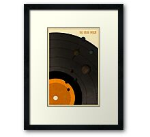 The Solar System LP Framed Print