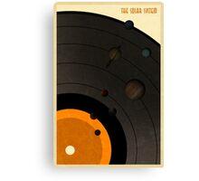 The Solar System LP Canvas Print