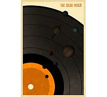 The Solar System LP Photographic Print