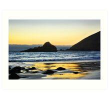 Gleaming Sunset Art Print