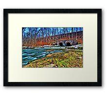 """ Ninemile Creek - Camillus, NY "" Framed Print"