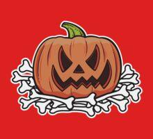 Halloween pumpkin One Piece - Short Sleeve